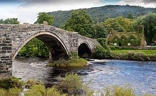 Llanrwst Human settlement in Wales