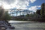 Iron bridge over the Rhone
