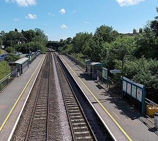 Pontyclun railway station Railway station in Rhonda Cynon Taff, Wales