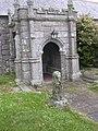 Porch at Wendron Parish Church.JPG