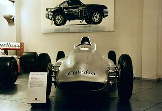 Cisitalia Grand Prix - Porsche 360 Cisitalia in the old Porsche museum