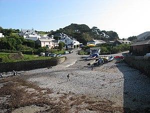Port Gaverne - Image: Portgaverne. panoramio