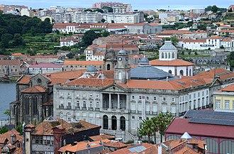 Palácio da Bolsa - Palácio da Bolsa, view from near the Porto cathedral