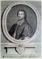 Portrait gravé de Claude Fyot (1630-1721), comte de Bosjean, Abbé de Saint Etienne de Dijon.png