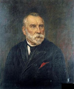 Edward Watkin - Portrait by Augustus Henry Fox, now in the National Railway Museum