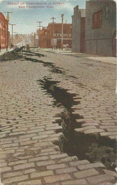 File:PostcardSanFranciscoCA1906EarthquakeLineInStreetPostmarked1909.jpg