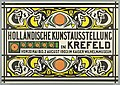 Poster, Holländische Kunstausstellung (Dutch Art Exhibition in Krefeld), 1903 (CH 18712979).jpg