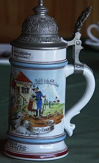 Pot à bière allemand 1895 adieux à la soubrette.jpg