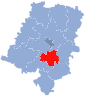 Krapkowice County - Image: Powiat krapkowicki