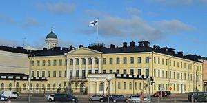 Presidential Palace, Helsinki - Image: Präsidentenpalast Helsinki
