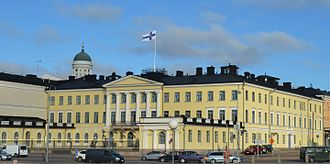 2018 Russia–United States summit - The Presidential Palace in Helsinki, the venue of the summit