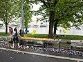 Pražský maraton, Nábřežní, občerstvovací stanice, pomeranče.jpg