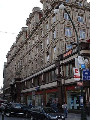 Pavel Janák - Image: Prague Palac Adria jungmanova Side