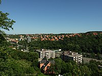 Praha, Motol, Poštovka, pohled ze srázu.JPG
