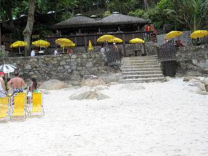Grumari - Image: Praia Grumari Quiosque