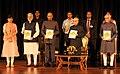 Pranab Mukherjee, the Vice President, Shri M. Hamid Ansari, the President-elect, Shri Ram Nath Kovind and the Prime Minister (1).jpg