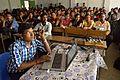 Prasenjit Mandal Editing Wikipedia - Bangla Wikipedia National Workshop - Vidyasagar University - West Midnapore - 2015-02-25 6378.JPG