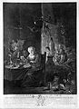 Preparation for the witches' sabbath. Engraving by J. Aliame Wellcome L0020438.jpg