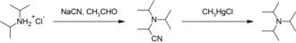 Triisopropylamine - Image: Preparation of triisopropylamine