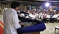 President Rodrigo Duterte delivers a message before his newly-appointed officials.jpg