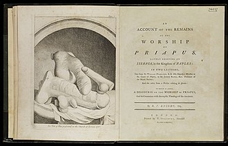 Richard Payne Knight - An Account of the Remains of the Worship of Priapus (1786).