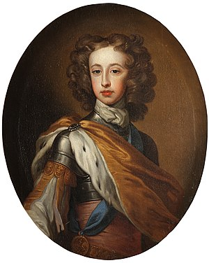 Prince William, Duke of Gloucester - Portrait by Sir Godfrey Kneller, c. 1700