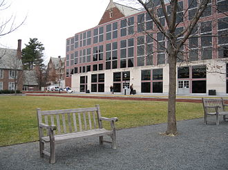Frist Campus Center - Image: Princeton Frist Campus Center back