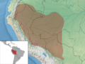 Proechimys simonsi distribution (colored).png
