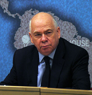 Lawrence Freedman - Sir Lawrence Freedman at Chatham House in 2013