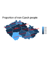 Proportion of non-Czech people in each county.png