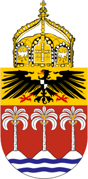 Coats of arms of German colonies - Image: Proposed Coat of Arms Samoa 1914