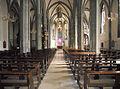 Propsteikirche, Mittelschiff, Blick zum Altar.JPG