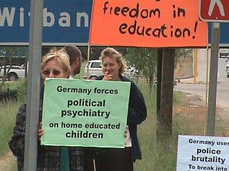 Deutsche Schule Pretoria - Image: Protest DS
