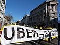 Protest against Uber - Budapest, 2016.01.18 (1).JPG