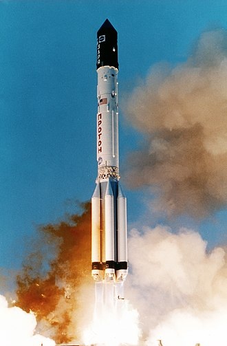1998 in spaceflight - A Proton-K launches Zarya, the first module of the International Space Station