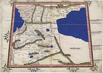 Greater Armenia - Image: Ptolemy Cosmographia 1467 Central Europe