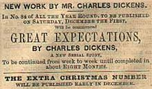 Great Expectations  Wikipedia Advertisement For Great Expectations In All The Year Round
