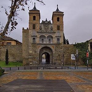 Puerta del Cambrón - Image: Puerta del Cambrón (Toledo). Exterior