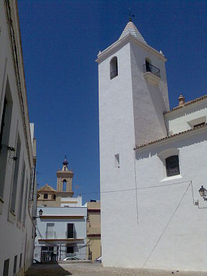 Puerto Real - Saint Sebastian Church.