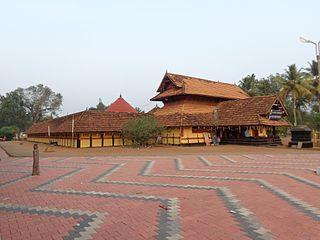 Puliyoor Village in Kerala, India