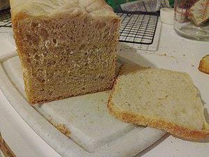 Pullman loaf - Image: Pullman loaf