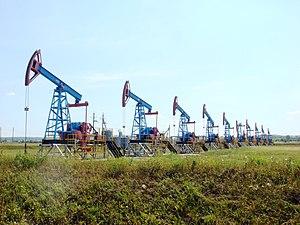 Bashkortostan - Bashneft oil pumps