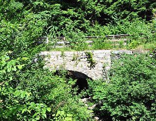 Sacketts Brook Stone Arch Bridge bridge in United States of America