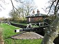 Puttenham Bottom Lock (No. 11) and Canal Cottage, Aylesbury Arm, Grand Junction Canal - geograph.org.uk - 1208313.jpg