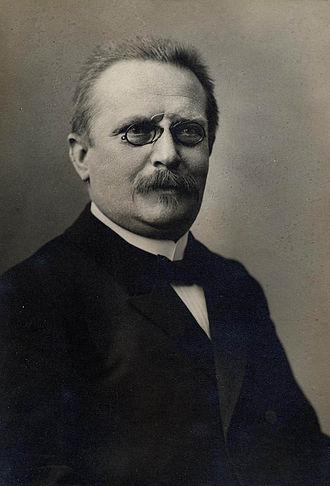 Großschirma - Friedrich Wilhelm Putzger around 1900