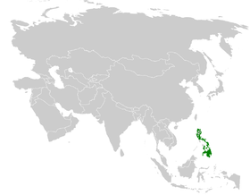 Pycnonotus urostictus distribution map.png