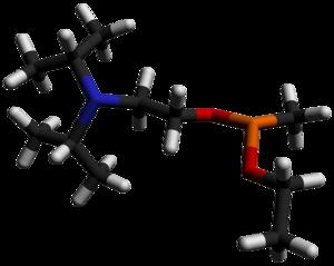 QL (chemical) - Image: QL 3D sticks by AHRLS 2012