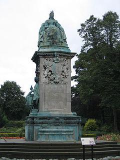Memorial to Queen Victoria, Leeds memorial in Leeds, West Yorkshire, England