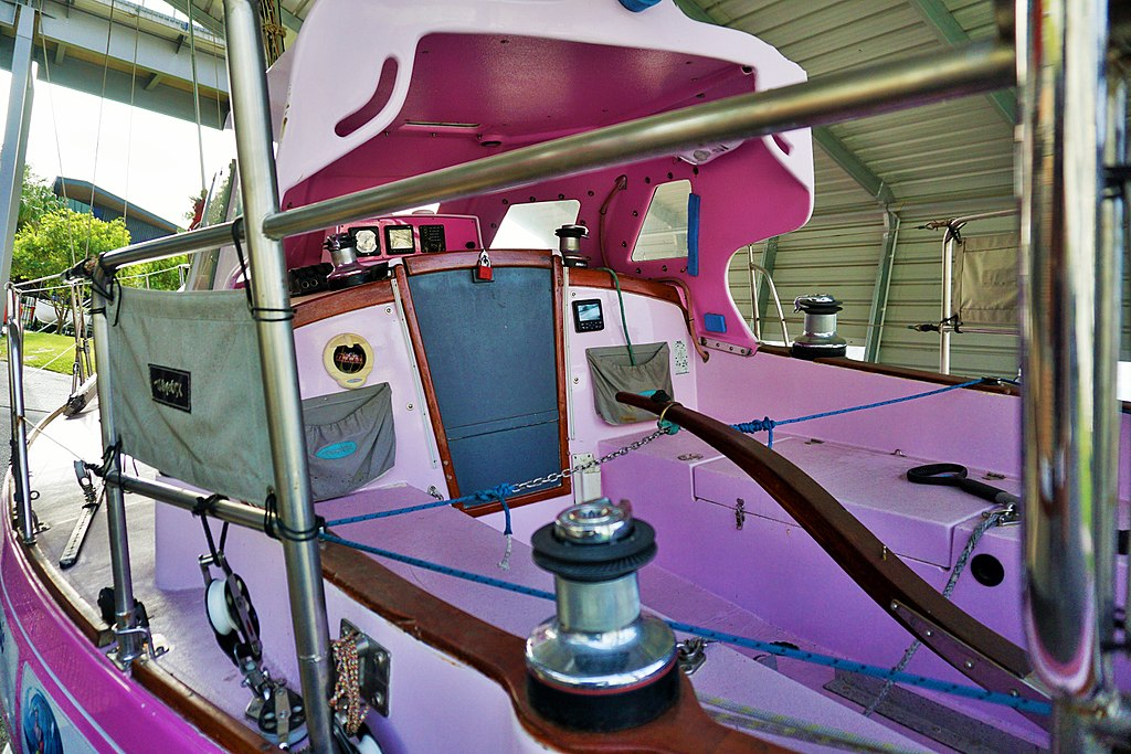 Queensland Maritime Museum - Ella's Pink Lady 2