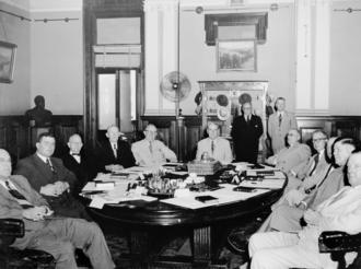 Gair Ministry - First Gair Ministry, 1952